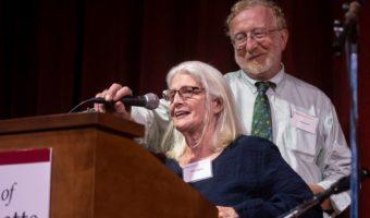 Betsy and Tom at UMass